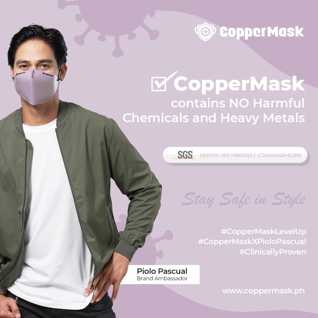 CopperMask Piolo Pascual